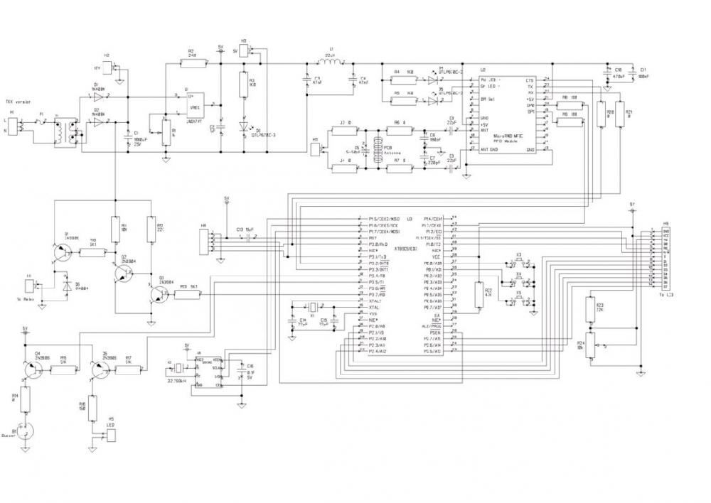 I program  DS1302 & AT89C51 C code but LCD display 85 : 85 : 85,what is wrong???-sch-jpg