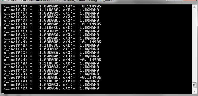 Matlab into C Function-console-jpg