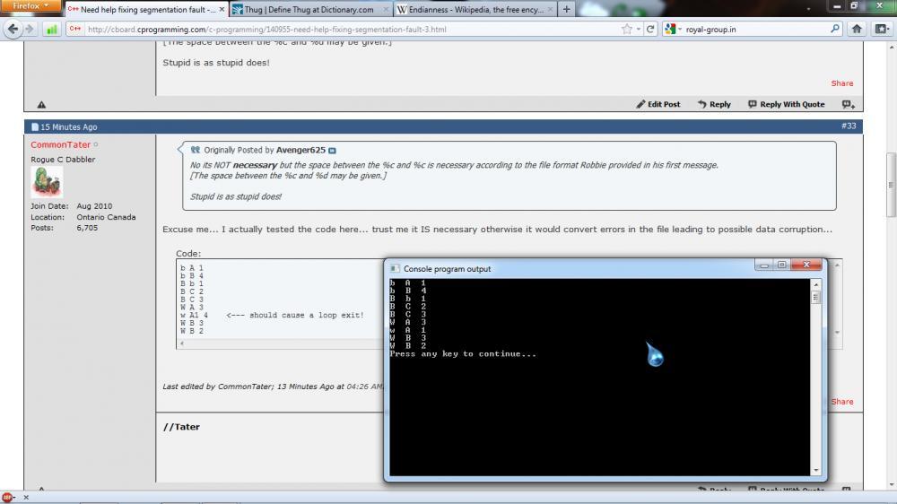 Need help fixing segmentation fault-output-jpg