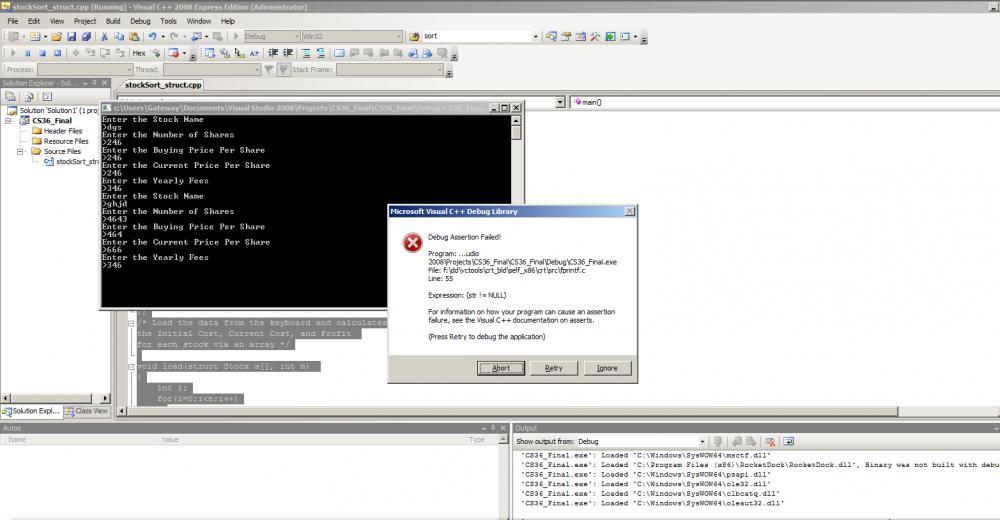 C Stock Sorting Program Issue-error-jpg