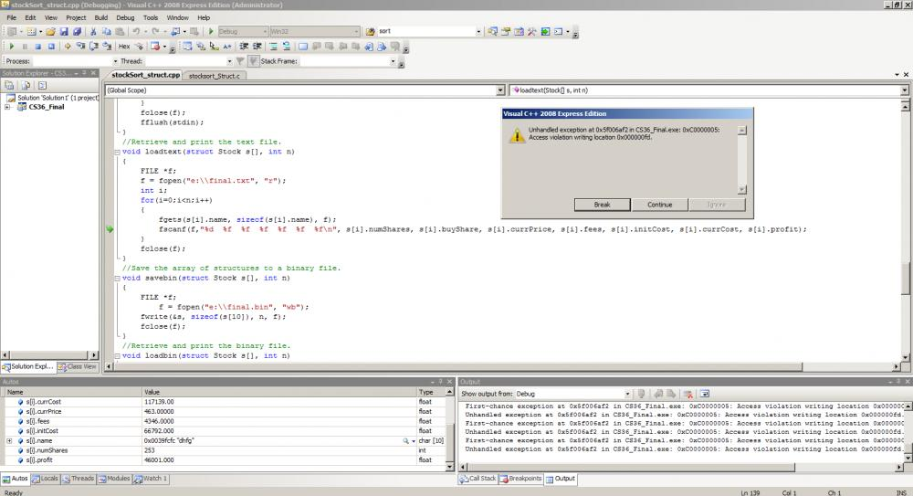 C Stock Sorting Program Issue-error2-jpg