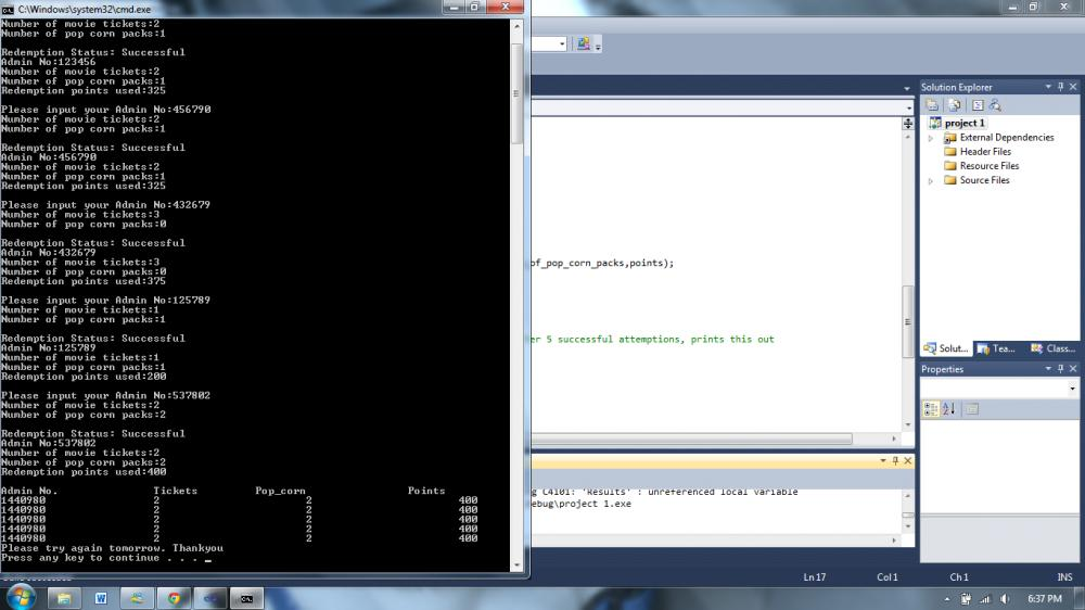 how to u overwrite data in array.My scanf does not read out the data on my array list-picture3-jpg