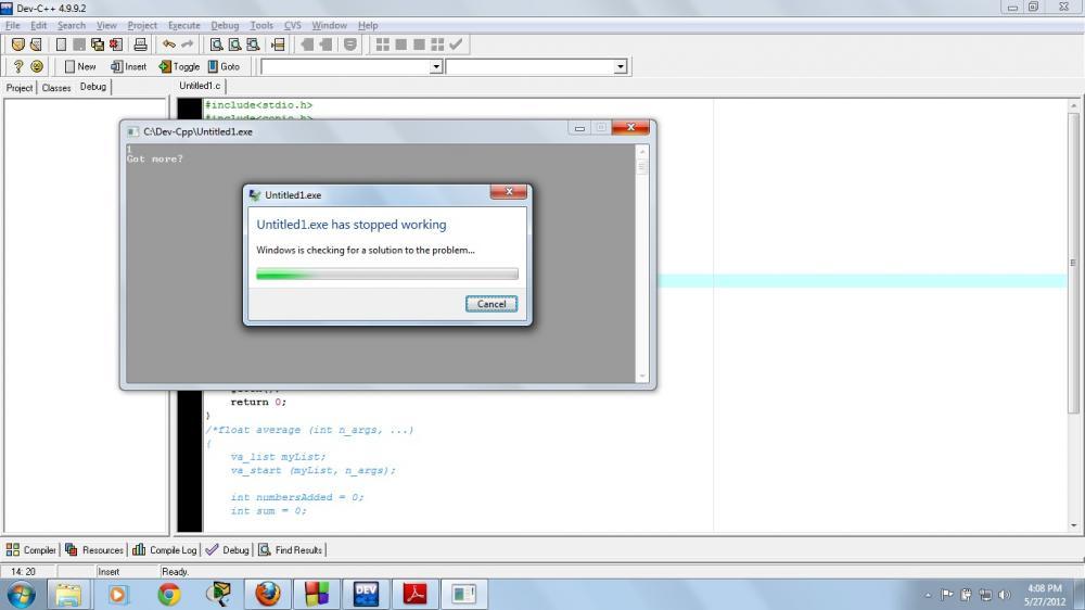 Need help with Dev C++-error-jpg