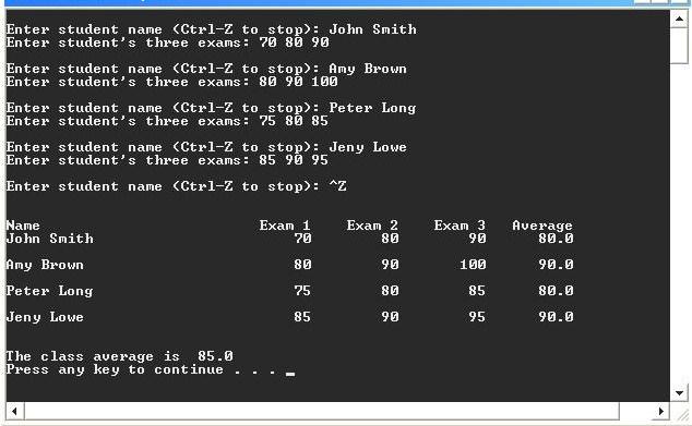 C Program: Array Structures-question-jpg