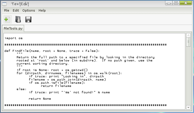 Graphical Text Editor Gtk