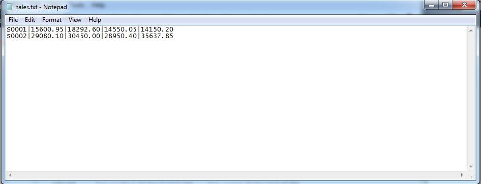 Modify text file-sales-jpg