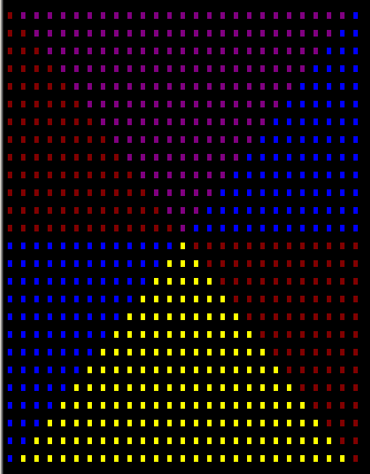 Make this image in c:-triangles1-png