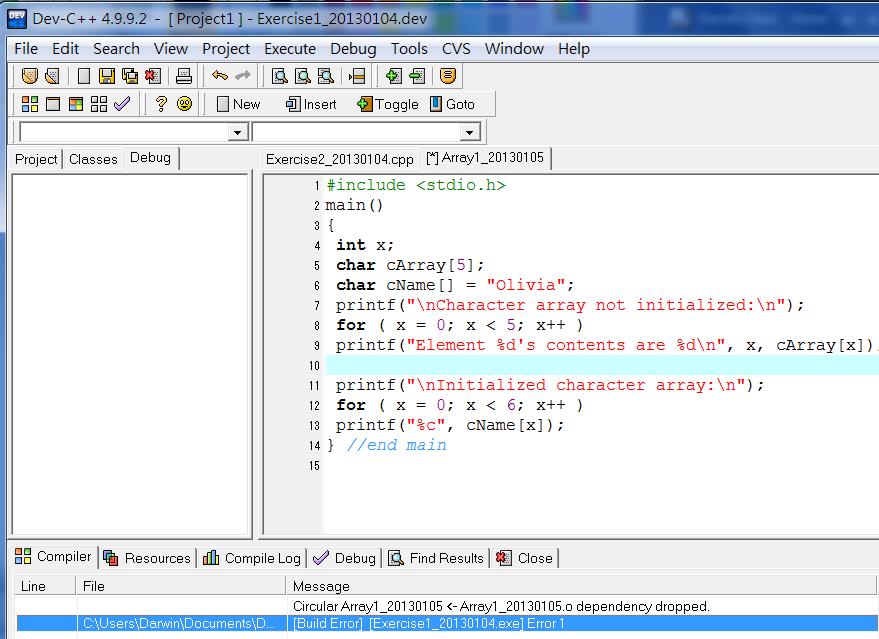 Dev C++ Char To Int
