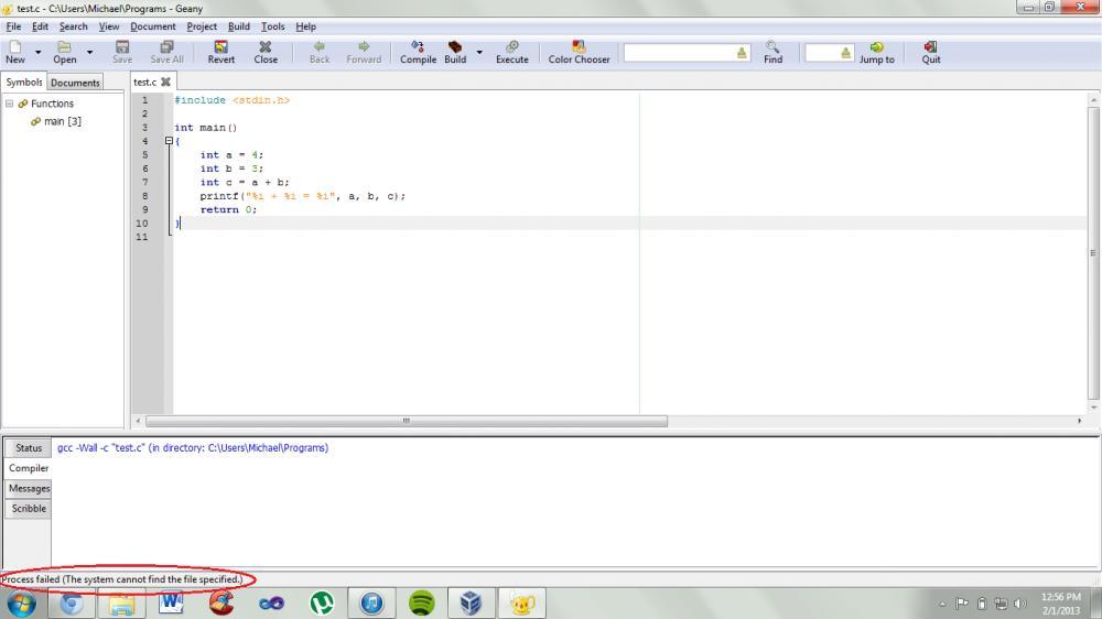 Wiritng programs in Geany-geany-error-jpg