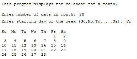 Help With Aligning-calendar-png