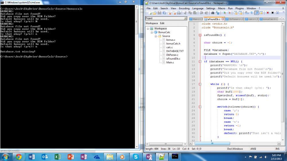 Unknown error with Y/N type system.-scr-jpg