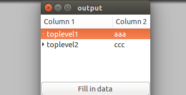 How to add gtk_tree_view_expand_all() in the program segment-current-preview-png