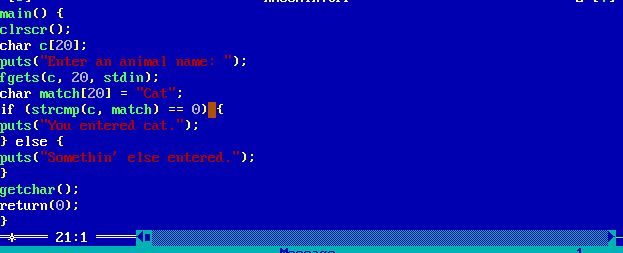 My if-else statement is flawed (only showing else code whatever input passed)-code-png