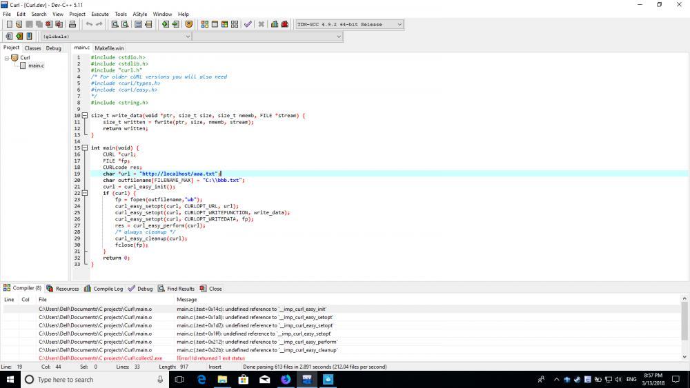 Libcurl program compiling problem-curlerror-jpg