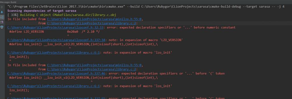 Can't compile simpe program using mini-LZO library-1-jpg