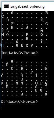 Multi-Array Problem: Random Walk of Alphabet on 10x10 Matrix (Beginner)-aplhabetmatrixrandom-jpg