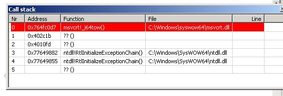 Debugging  (0xC0000005) error-error_c-png