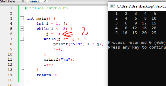Turning a nested for loop into a nested while loop fails - why?-nested_whileloop-png