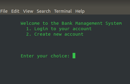 Bank account management project help-selection_003-png