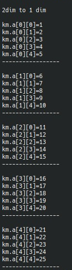 to convert two-dimensional array to one-dimensional-2dim_to_1dim-jpg