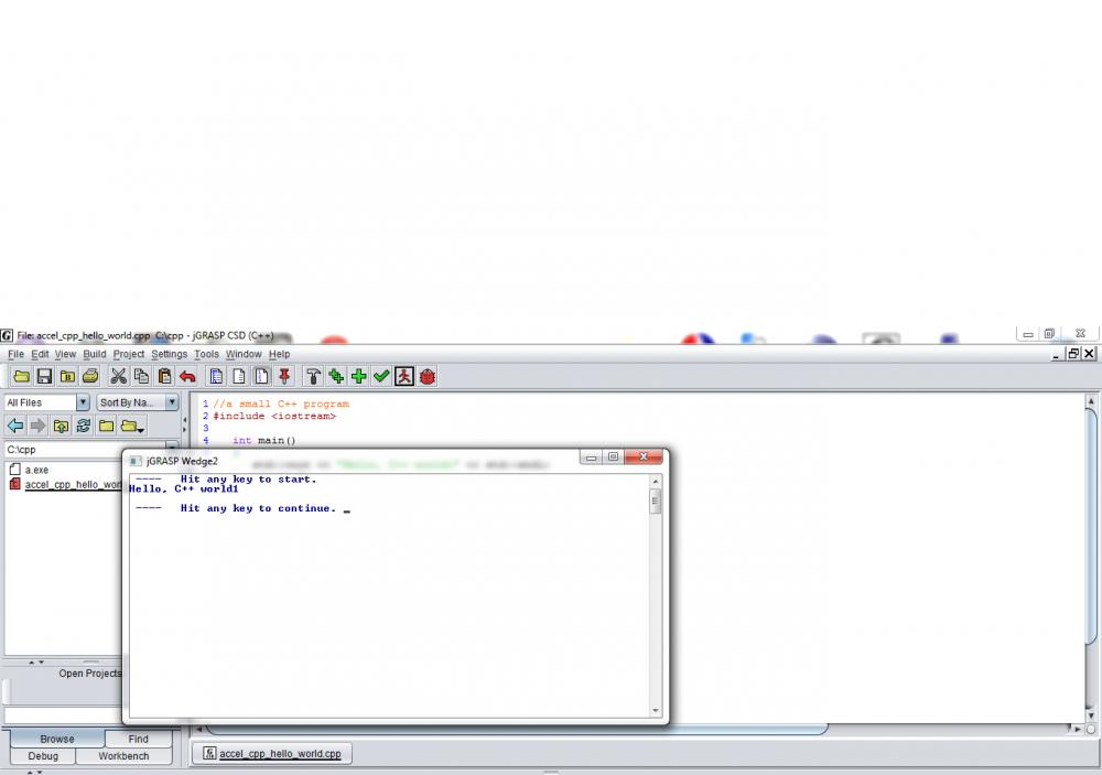 jGrasp IDE and C++-jgrasp_out-jpg