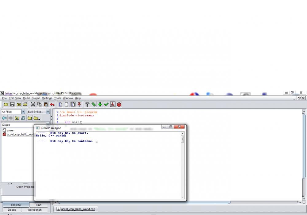 jGrasp IDE and C++-jgrasp_out-jpg