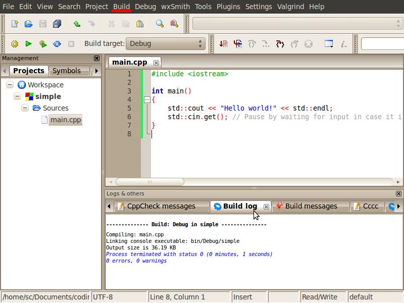 Code::Blocks run problem-screenshot-main-cpp-[simple]-code-blocks-10-05-png