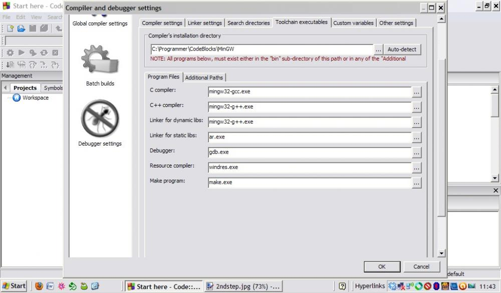 Code::Blocks run problem-3rdstep-jpg