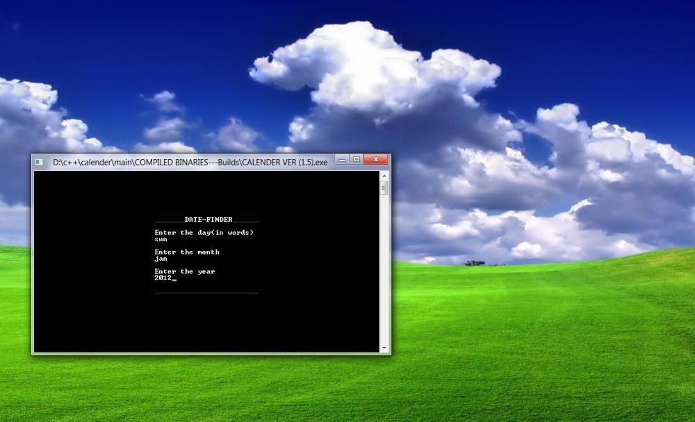 C/C++ Calender-day2date-jpg