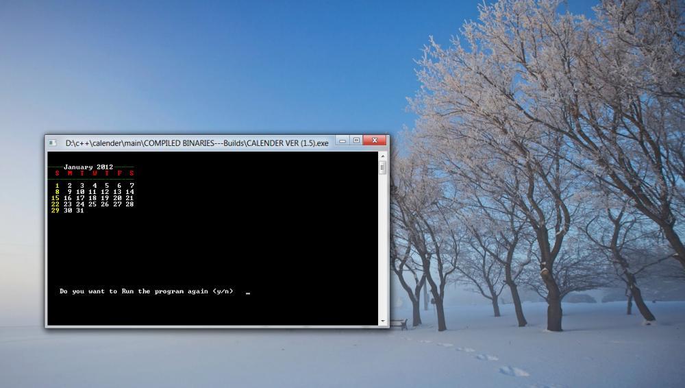 C/C++ Calender-month-calender1-jpg