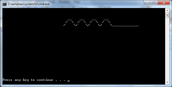 Creating an ASCII animal-snakeoutput-png