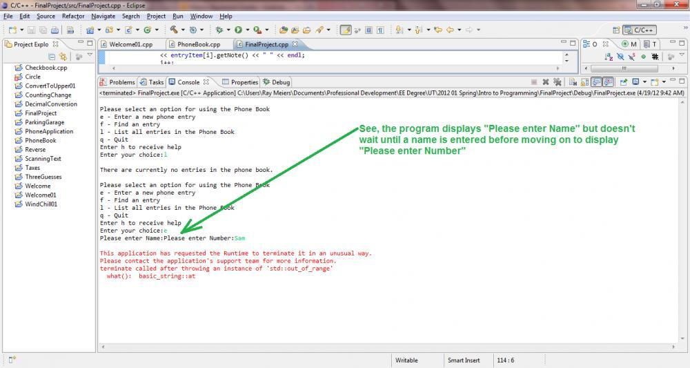 Converting an Array of Character to a String-screen-shot-error-jpg