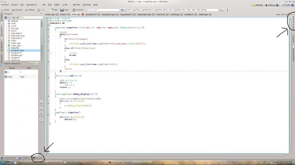 Makefile missing:-kdev-jpg