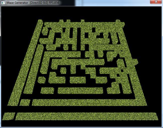 Converting 2D Maze Generator to 3D-irrlicht-3d-maze-jpg