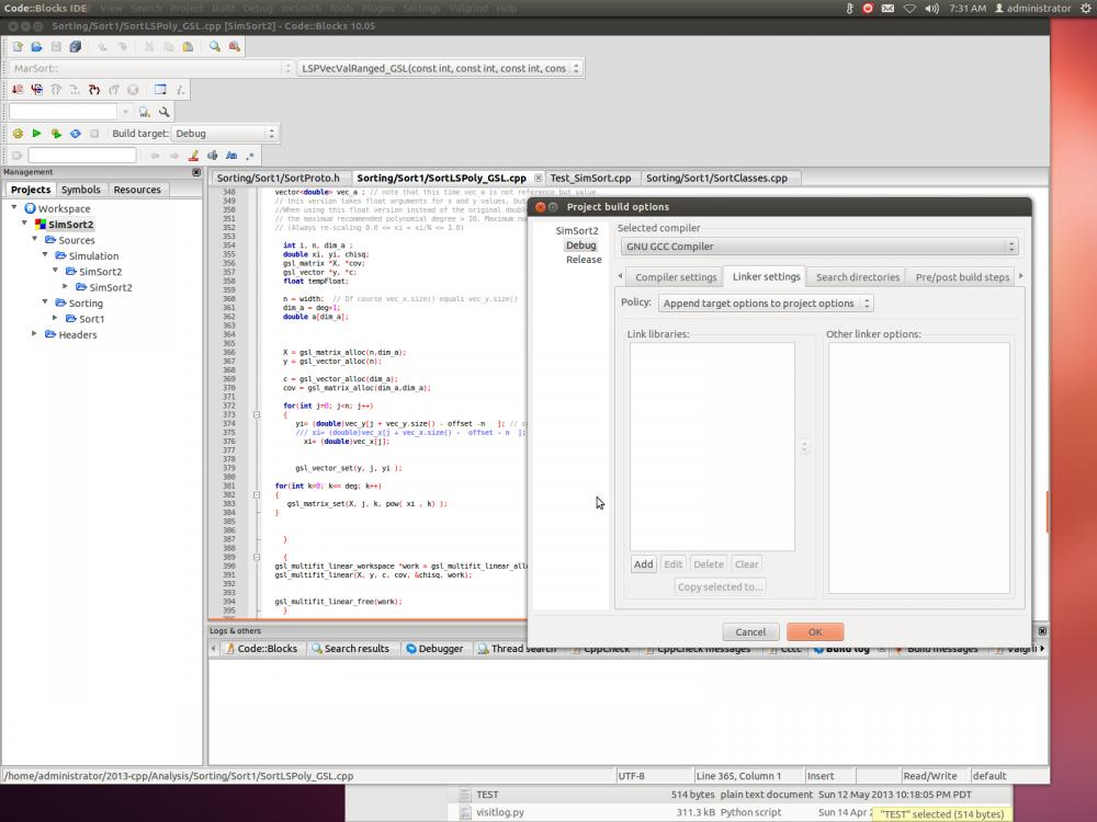 Recovering Code::Blocks C++ linker settings-screenshot-2014-12-04-07-31-38-jpg