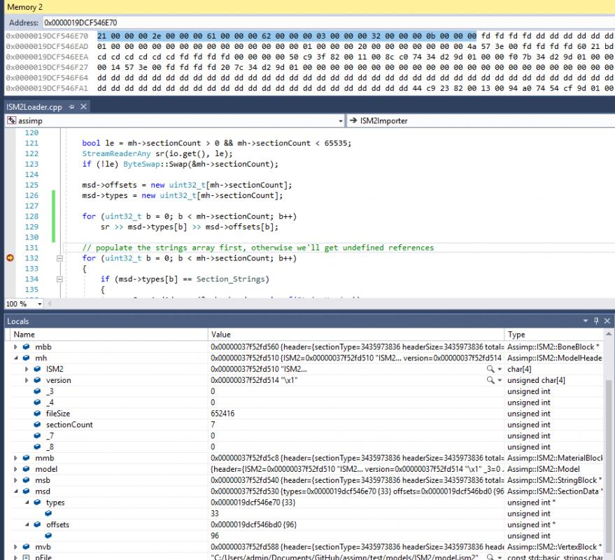 MSVC debugger showing inconsistencies with dynamic arrays? Or is it bad code?-untitled-jpg