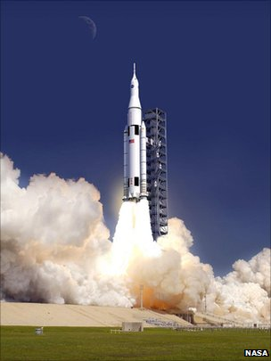 Live Launch! at 1:15 Pacific Daylight Time, Today.-sls_rocket-jpg